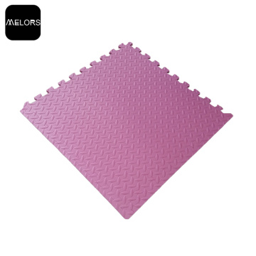 Pink Fitness Exercise EVA Foam Interlocking Mat
