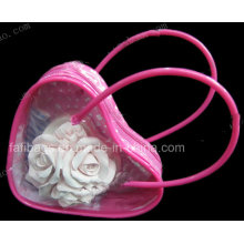 Transparent PVC Gift Bag for Cosmetic Bag