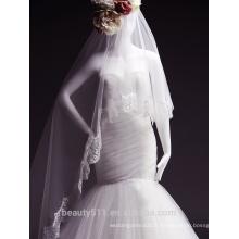 2017 de haute qualité de style en dentelle bretelles robe de mariage jupe complète TS149