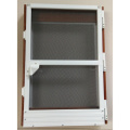 Aluminum screen frame door fiberglass insect screen door