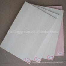 Nueva lámina Frieproof de óxido de magnesio y sulfato de magnesio para pared
