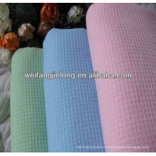 100% cotton dyed honeycomb fabric for sleepwear
