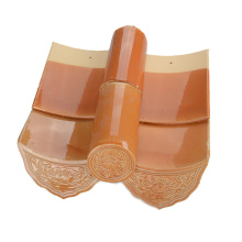 Foshan Butterfly Shaped Orange Color Life Tile Roof Tile Suppliers