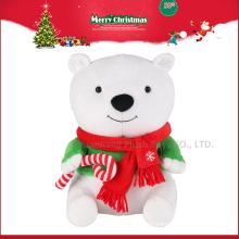 decorações de natal feitas na china handwork natal ursinho de pelúcia
