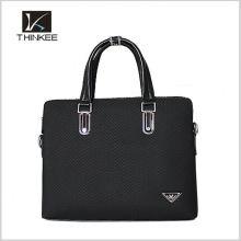 new arrival unique fashion handbag logo labels free leather men tote bag