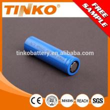 18650 2200mah 3.7V batterie rechargeable au Lithium-Ion