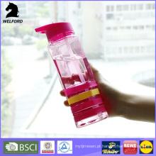Garrafa de água profissional com banda de silicone