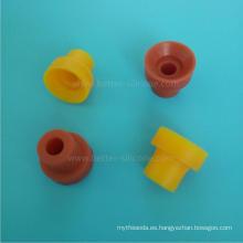 Válvula de caucho de silicona de resucitación médica
