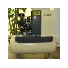 Compressor de ar compacto rotativo de parafuso com secador (Xl-10A 7.5kw)