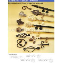 Wrought Iron Curtain Rods