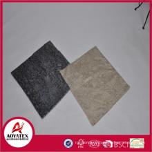En gros pas cher, nouveau style r, 280grm 100% polyester poli pv retour avec 180grm DTM couverture de coussin en microfibre solide