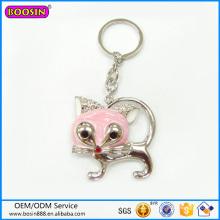 Vente en gros Lovely Kitty Charm Keychain Porte-clés à la mode # 15460
