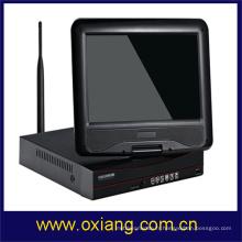 caméra de sécurité à la maison dvr avec écran LCD WIFI NVR KIT caméra de surveillance