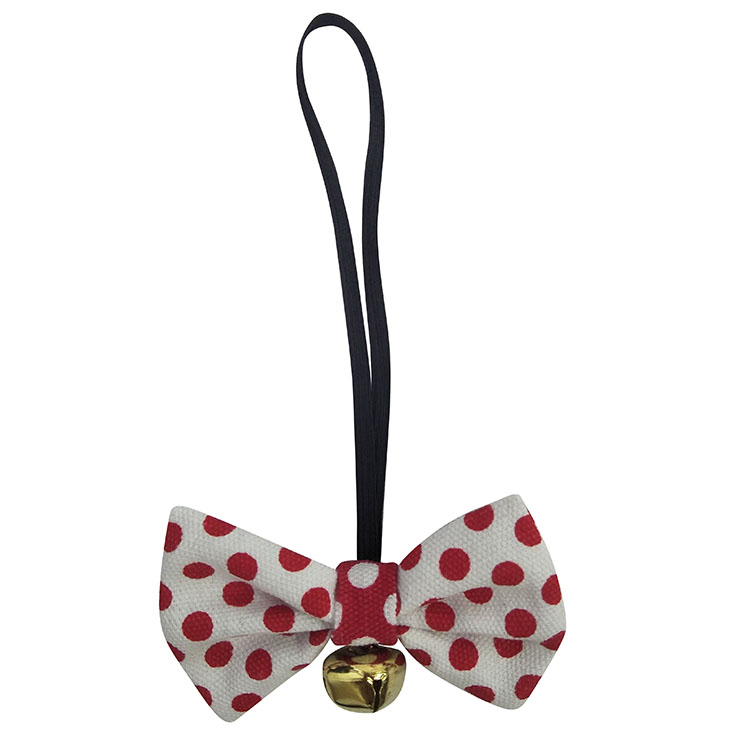 Christmas Small Dog Bow Tie Plaid