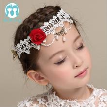 Aparamentos por atacado do cabelo das crianças das headbands da festa de casamento das meninas do Headband das crianças para a decoração