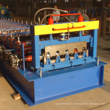 CE / ISO certificat russia typeH75 étage decking meilleure toiture machine