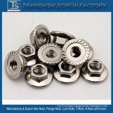 18-8 Stainless Steel Hex Flange Nut