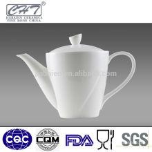 Top sale white bone china porcelain turkish coffee pot coffee kettle