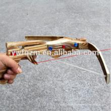 2014 hohe Qualität aus Holz im Freien spielen Spielzeug Armbrust