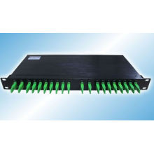 19 Inch 1u Rack Mount 8CH Mux/Demux Dual Fiber Optical CWDM