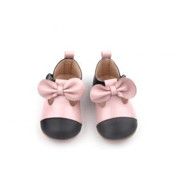Nieuwe Bow Infant Baby Girl Dress feestschoenen