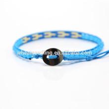 Style à la mode de nouveaux perles de tissage de mode bracelet de corde personnalisé ajustable au Japon