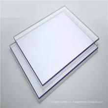 Hoja de policarbonato sólido de hoja transparente regular de 3 mm