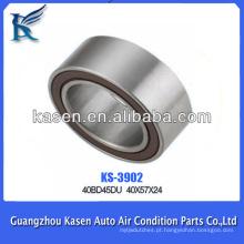 Auto condicionador de ar rolamento magnético da polia da embreagem 40 * 57 * 24mm rolamento