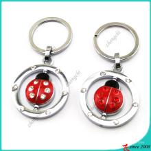 Porte-clés Red Metal Ladybird pour enfants (KR16041912)