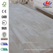 2440 mm x 1220 mm x 16 mm Cheap Grade AA South Asia Acacia Butt Joint Board