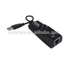 Adaptador Ethernet USB 2.0, Adaptador Ethernet Gigabit USB 2.0, cartão desktop PC PC Card, CE, FCC