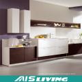 Mobília dos armários de cozinha da mobília do bloco liso (AIS-K446)