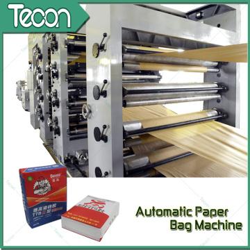 Machine de fabrication de sacs en papier de protection de l'environnement