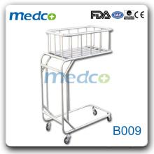 Bom preço Bebê Infante Hospital Cama médica com segurança B009