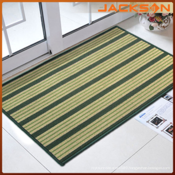Nylon Loop Pile Mat with Stripe Pattern