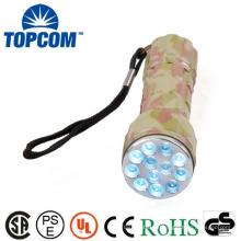 12 LED camuflagem cor Mini LED Tocha