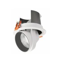 Colher giratória LED down light