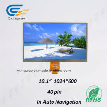 Ckingway Customize Size Backlight 1024*600 Color in Medical Machine TFT Display