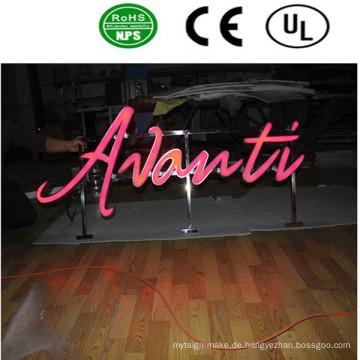 Hohe Qualität LED große Buchstaben Zeichen Acryl Brief