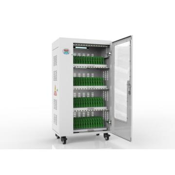 52 port charging cart for multiple devices