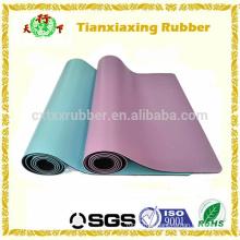 Eco Rubber Gym Exercising Anti Slip PU Yoga Mat