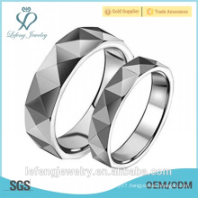 Hot sale fashion cool man tungsten carbide rings