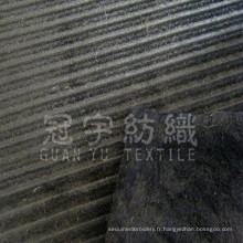 Tissu de canapé en velours côtelé tissé (GYW025)