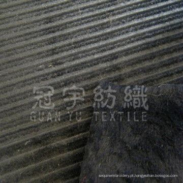 Tecido para sofá de veludo cotelê (GYW025)