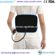 back inflatable physical therapy apparatus for back posture support