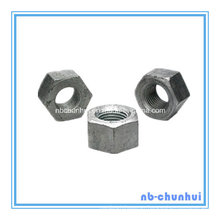 Hex Nut-A563 M48 Hot DIP Galvanizing