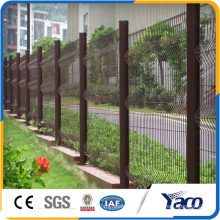 PVC powder 4mm Wire Mesh Fence,gradil nylofor 3d,3D folding wire mesh fence