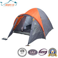 Double Layers Camping Tent Outdoor Tent for 2-4 Person
