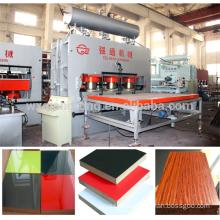 Short cycle melamine press/3200T-6X12' short cycle melamine lamination hot press