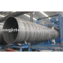 Спиральная стальная труба